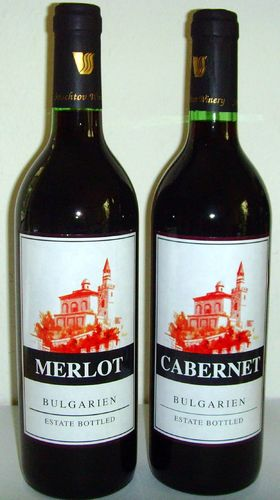 CABERNET Estate & Merlot Estate, 2er Set