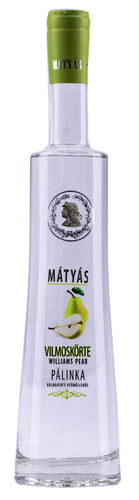 Matyas vilmoskörte palinka(Williams-Birne), 40,0%Vol.
